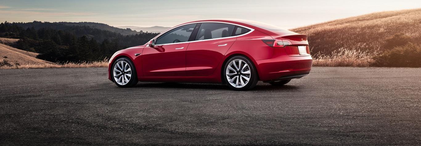 Laadpaal voor een Tesla Model 3 Long Range Dual Motor?
