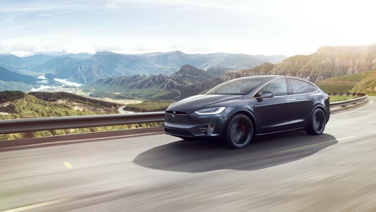 Welke laadpaal Tesla Model X Ludicrous Performance?
